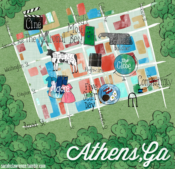 Athens, GA for Design*Sponge