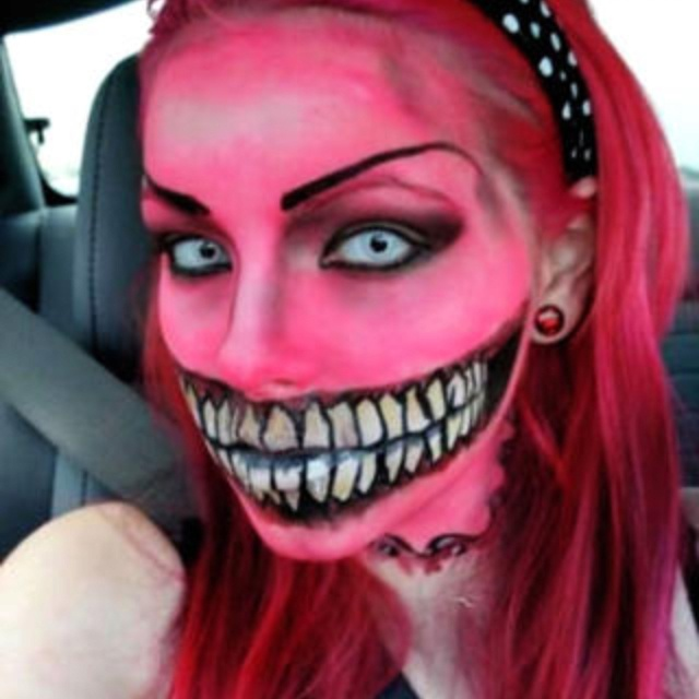 Inspiration: Halloween Face Paint - Sarah Lawrence