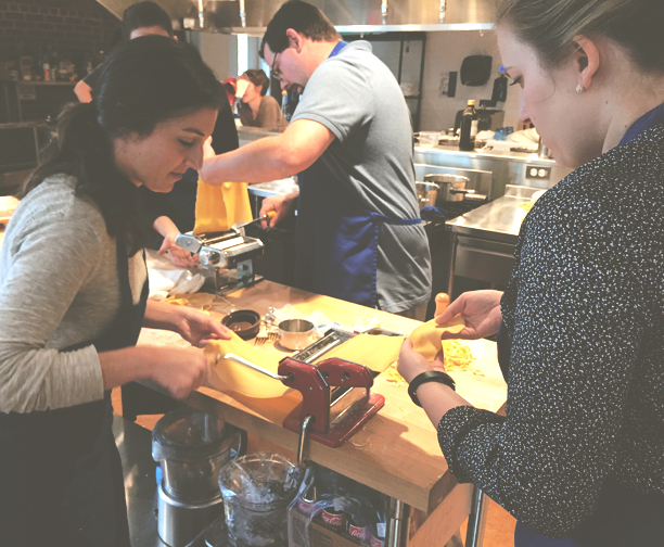 Teaching Pasta Classes at Preserving Place