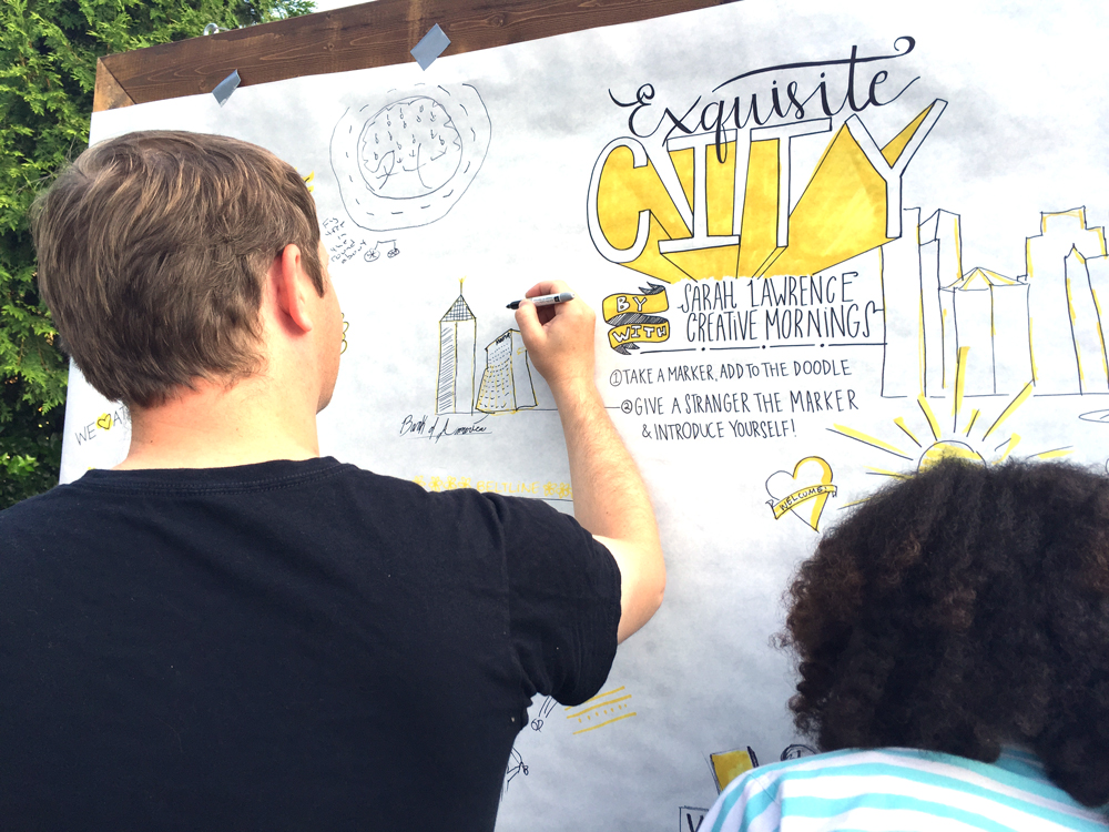 Exquisite City at Creative Mornings