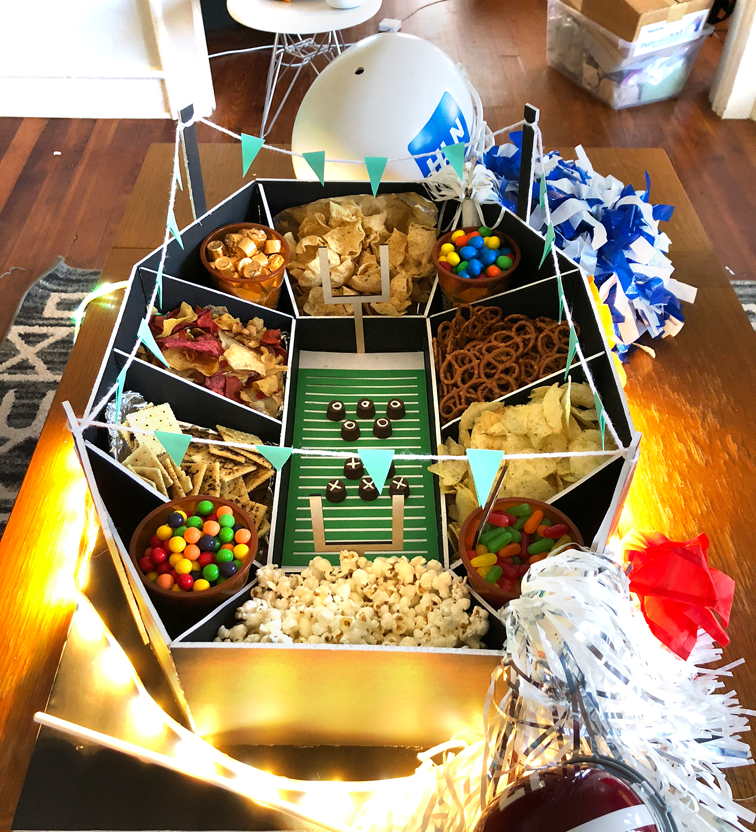 How to Build Your Own Snack Stadium